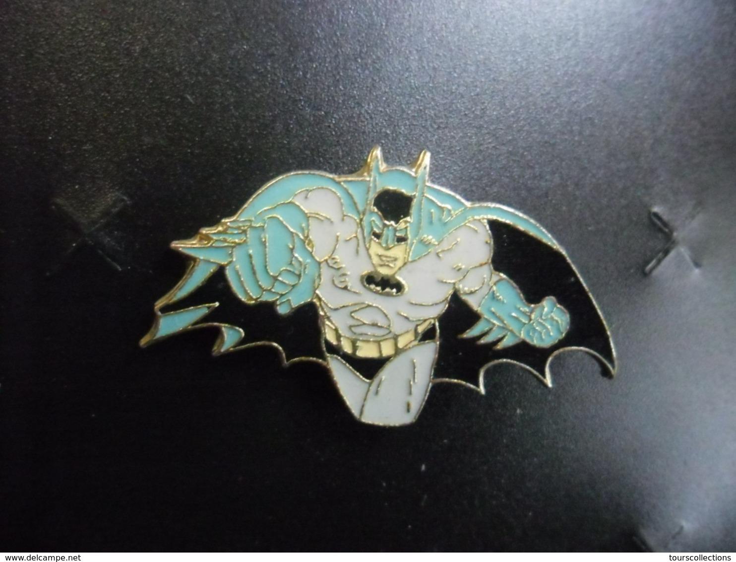 PIN'S BD Ou Film BATMAN - DC COMICS 1987 Au Verso @ 37 Mm X 22 Mm - BD