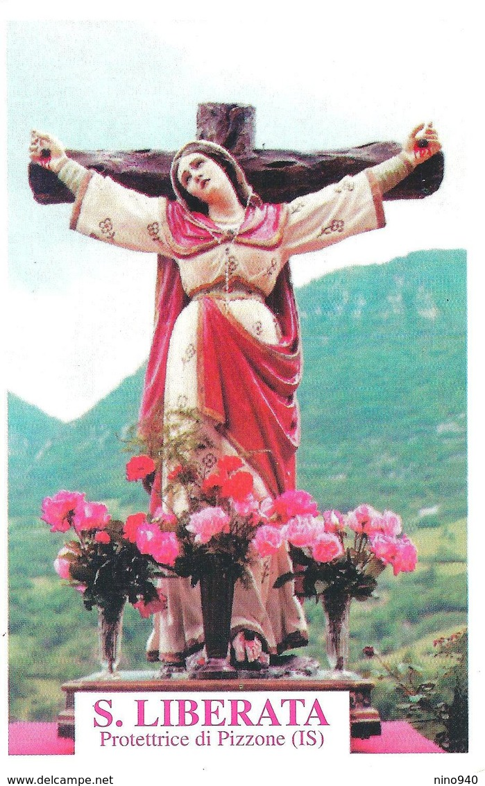S. LIBERATA V.M. - PIZZONE - M - PR -  Mm. 80 X 126 - Religion & Esotérisme