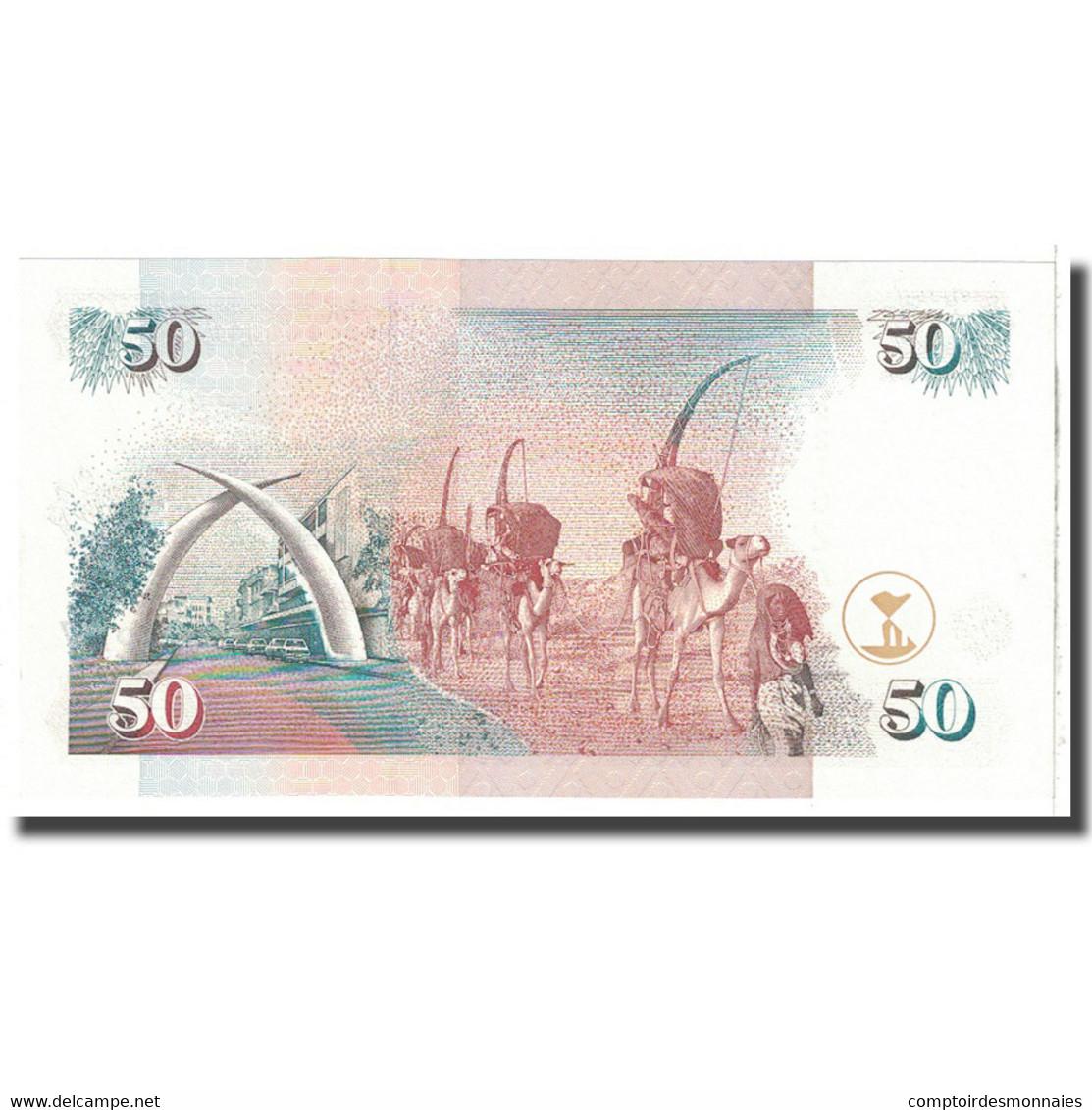Billet, Kenya, 50 Shillings, 1996, 1996-01-01, KM:36a1, NEUF - Kenya