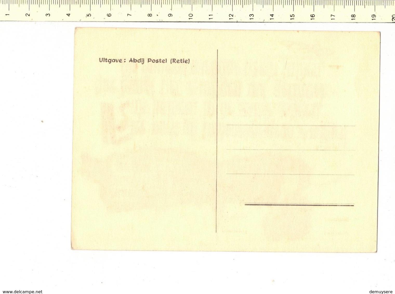 49103 - ABDIJ POSTEL - HIER VOELT GIJ TALDOORDRINGEND ZWIJGEN - Mol