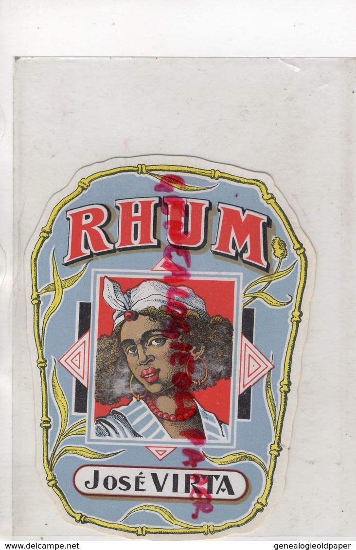 ETIQUETTE RHUM JOSE VIRTA - Rhum