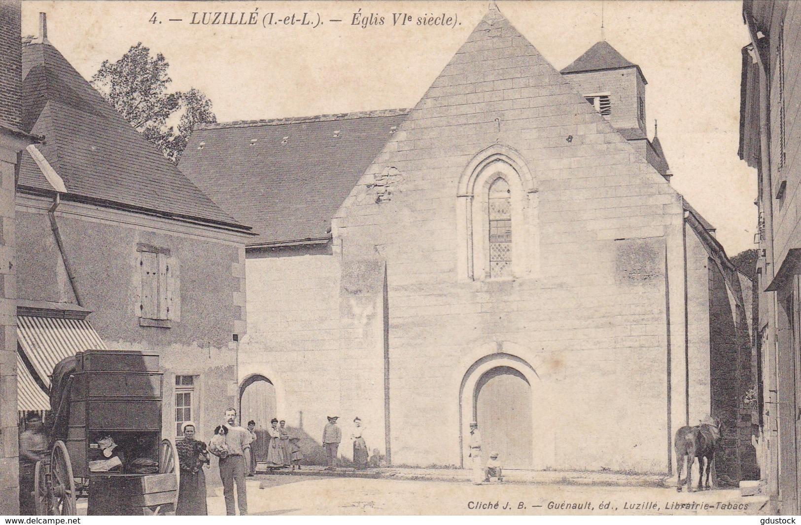 Indre-et-Loire - Luzillé - église VIe Siècle - Autres Communes