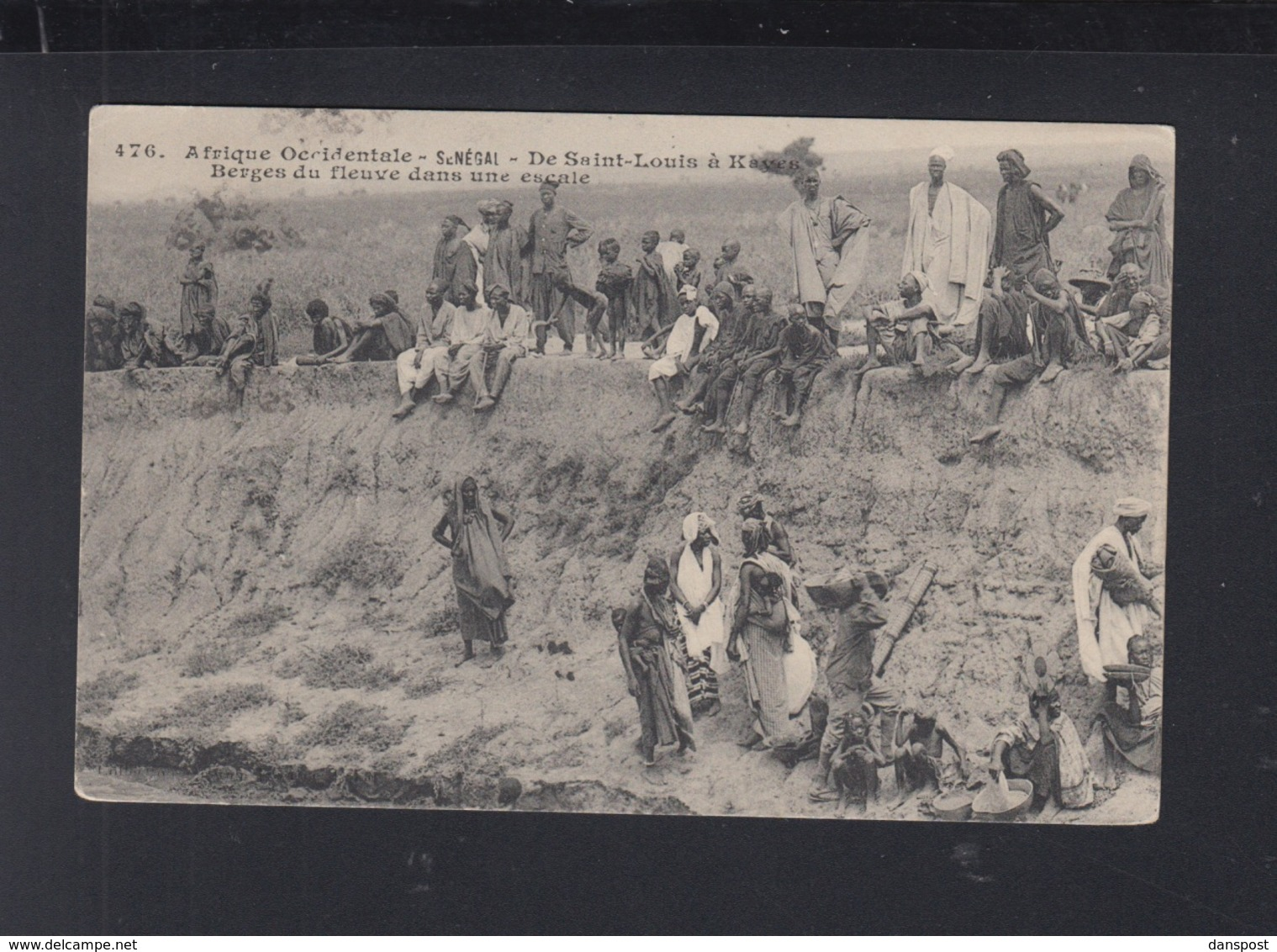 France Senegal PPC 1911 - Senegal