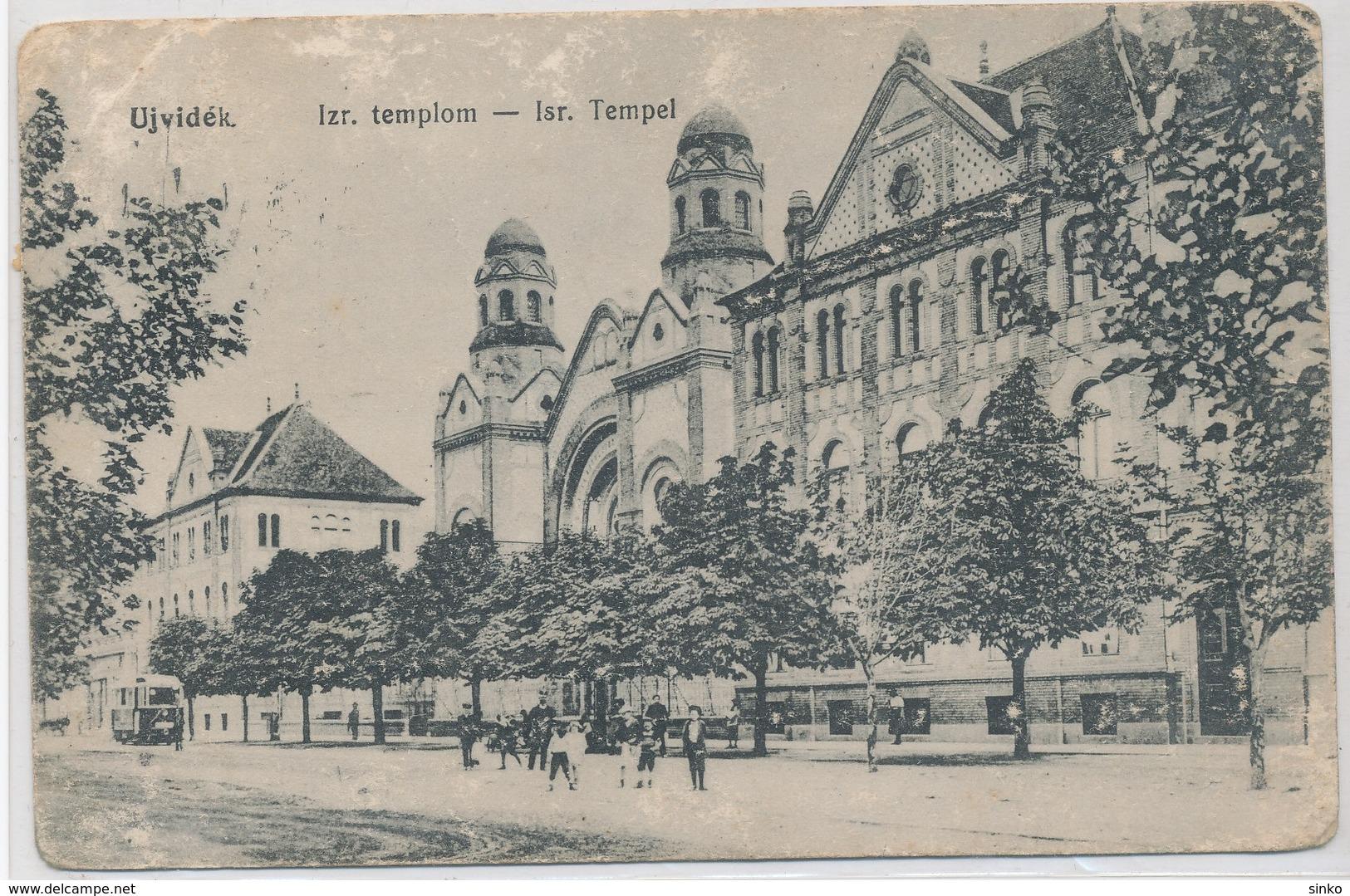 Ujvidek. Isr. Church - Serbia