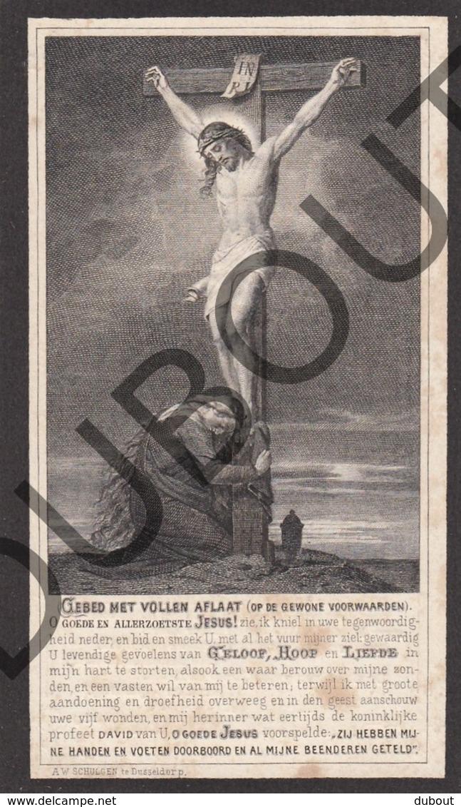 Doodsprentje Henricus Van Leuven °1824 Schoonbroek Retie †1883 Geel Lid Vh Genootschap Der Xaverianen (F251) - Obituary Notices