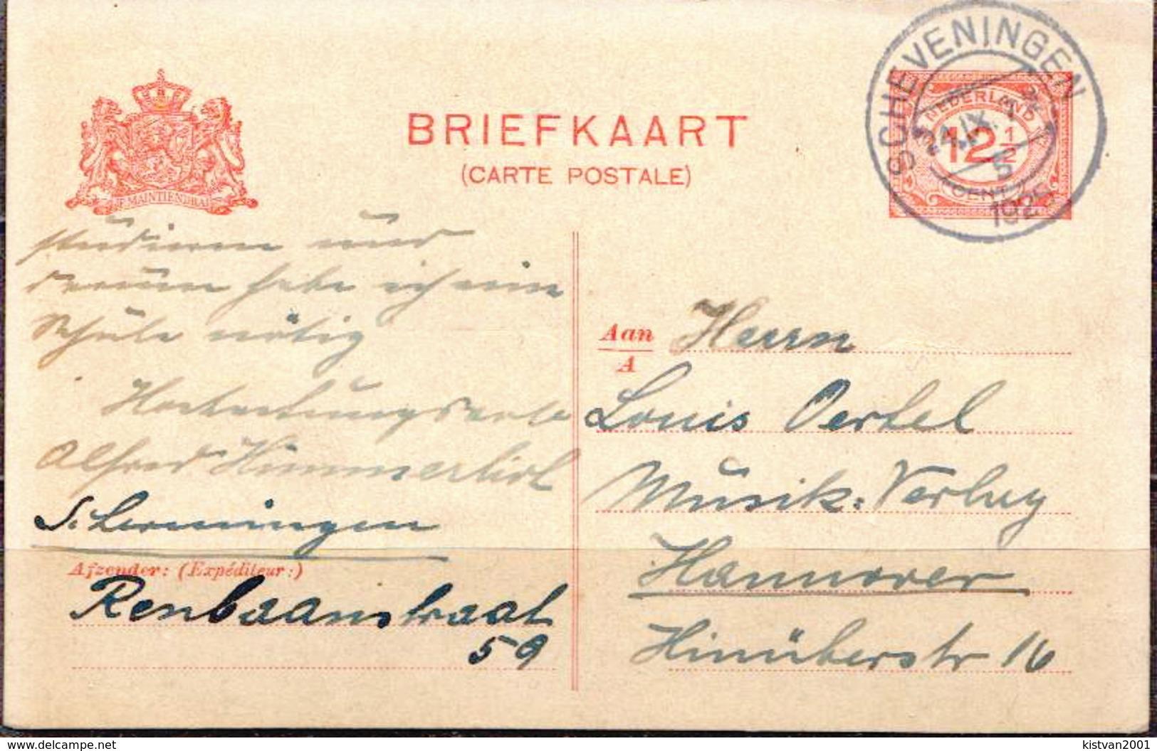 Postal History: Netherlands Postal Stationary From 1925 - Postal Stationery