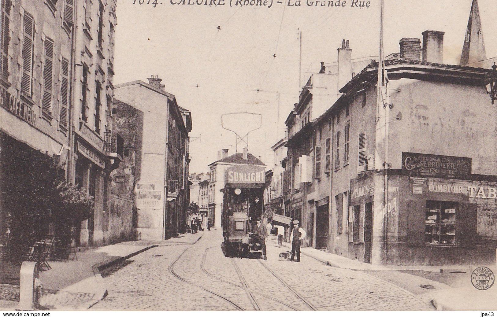 CALUIRE La Grande Rue - Caluire Et Cuire