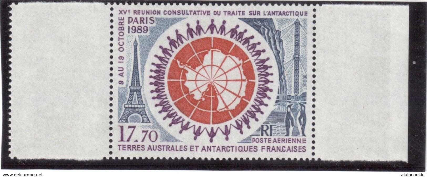 M2 - TAAF PA109** De 1989 - Traité Sur L' Antarctique. - Terres Australes Et Antarctiques Françaises (TAAF)