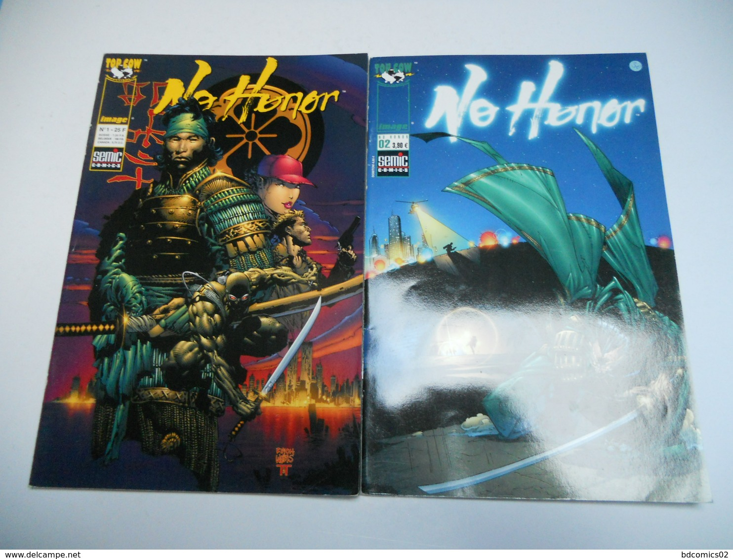 Lot De 2 Bd No Honor Senic N°1 Et N°2 Complet Tbe - Books, Magazines, Comics