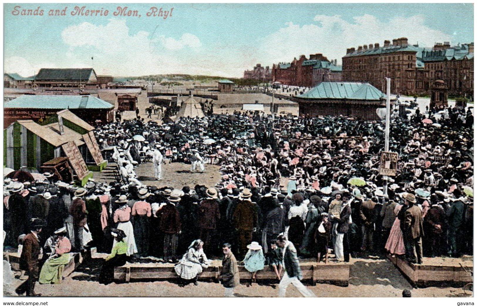 Sands And Merrie Men, RHYL - Pays De Galles