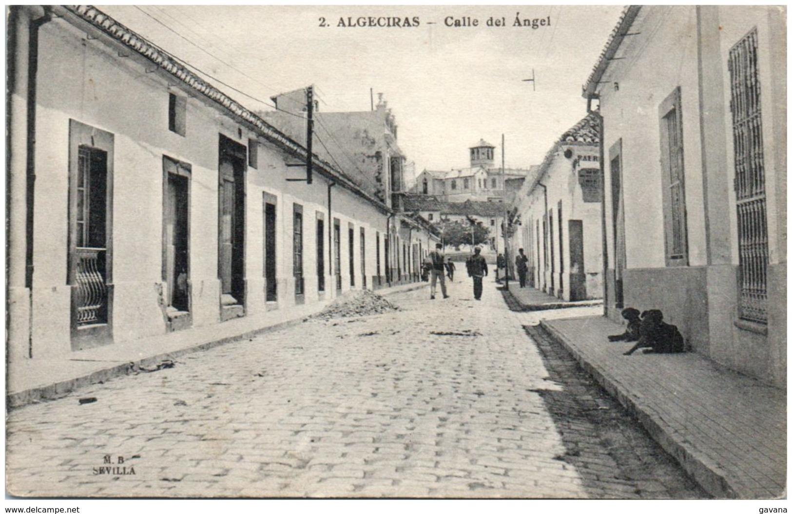 ALGECIRAS - Calle Del Angel - Spanje