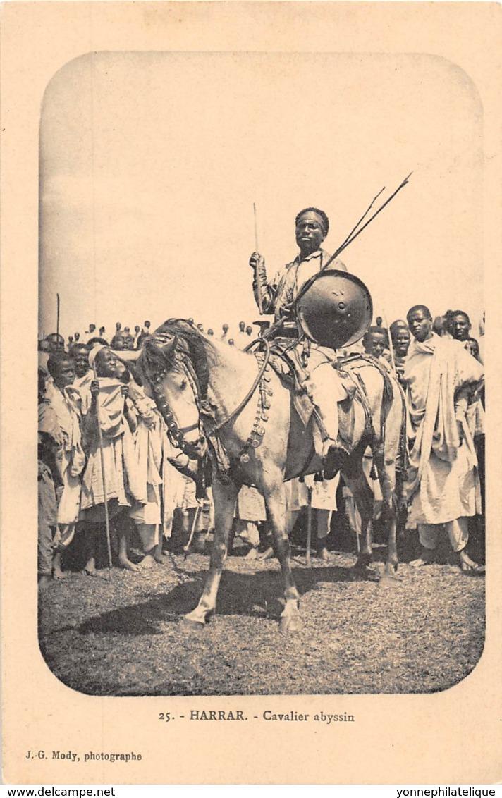 Ethiopie / Ethnic - 32 - Harrar - Cavalier Abyssin - Ethiopia