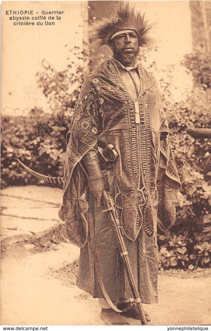 Ethiopie / Ethnic - 38 - Guerrier Abyssin - Ethiopia