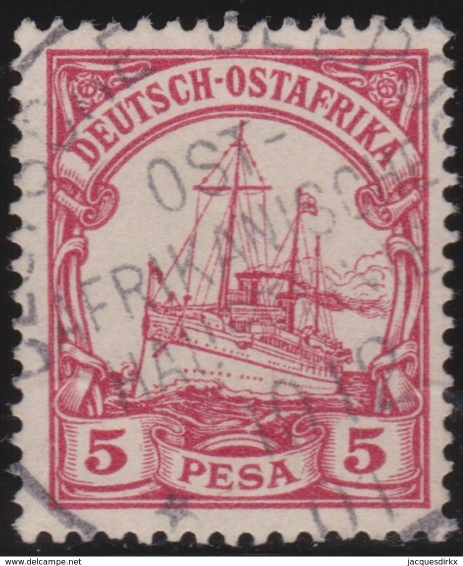 Deutsch  Ost-Afrika    .     Michel   13      .       O     .      Gebraucht - Kolonie: Deutsch-Ostafrika