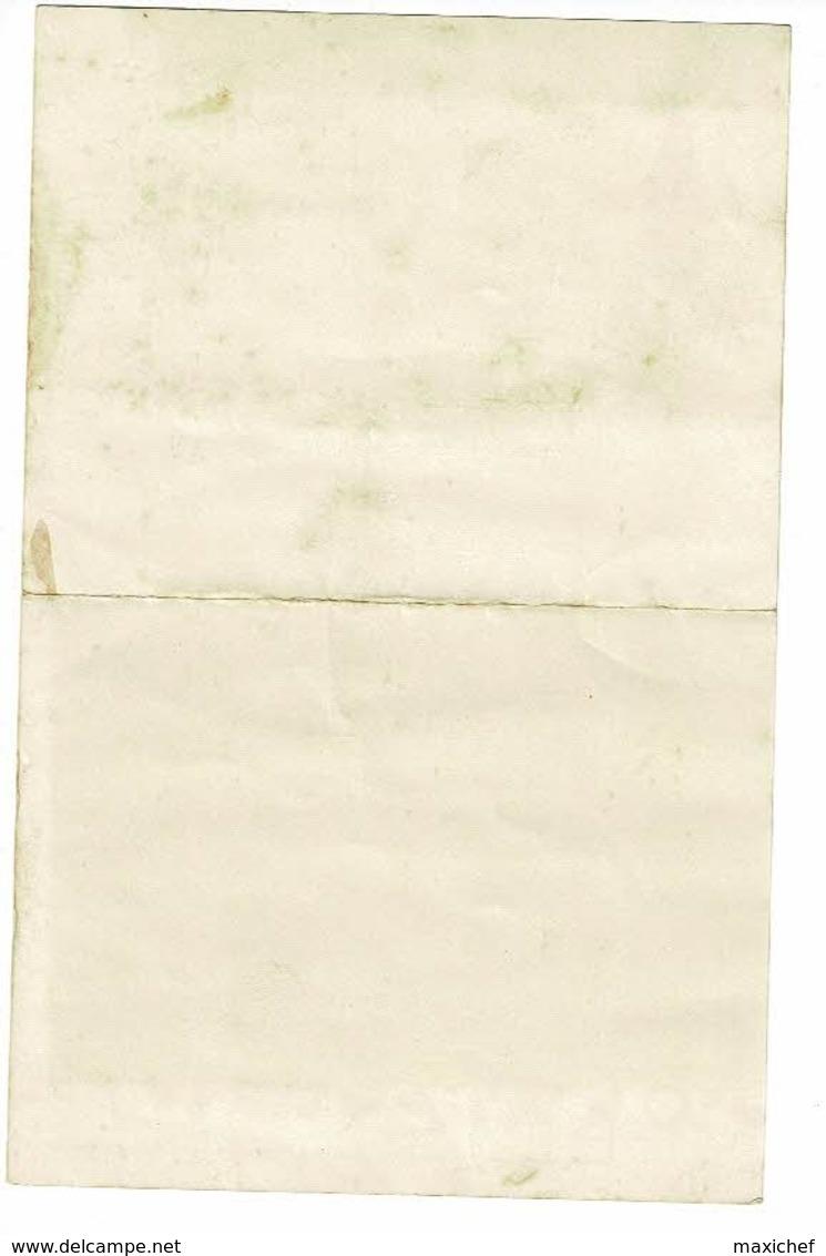 """Menu Illustré """"Pub Rocher Cherry"""" Gratay (71) Le 09/12/1967 Pli Au Centre & Tâches - Menus"""