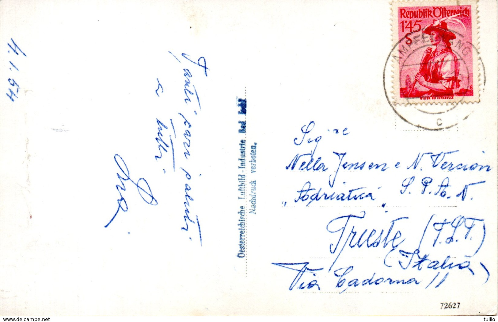 RIED CARTOLINA 1905 - Ried Im Innkreis