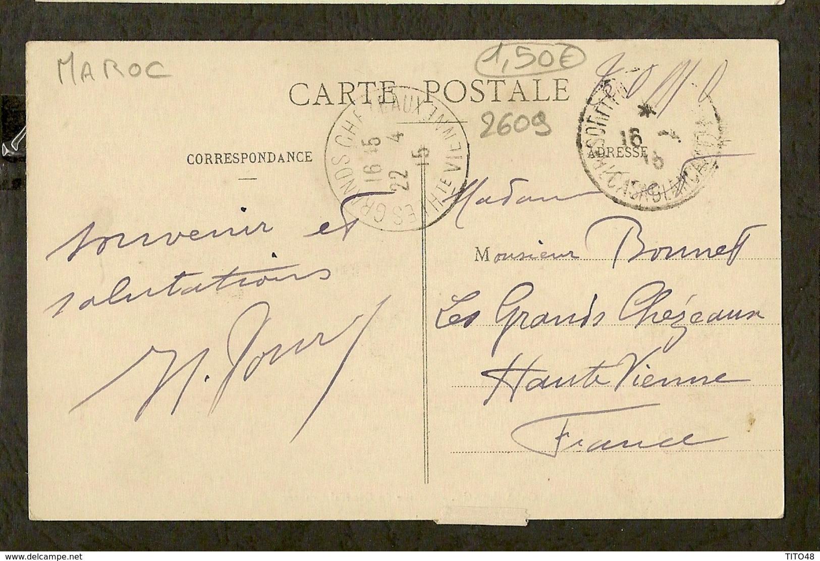 CP-CASABLANCA - Arrivée Du Général Lyautey - Casablanca