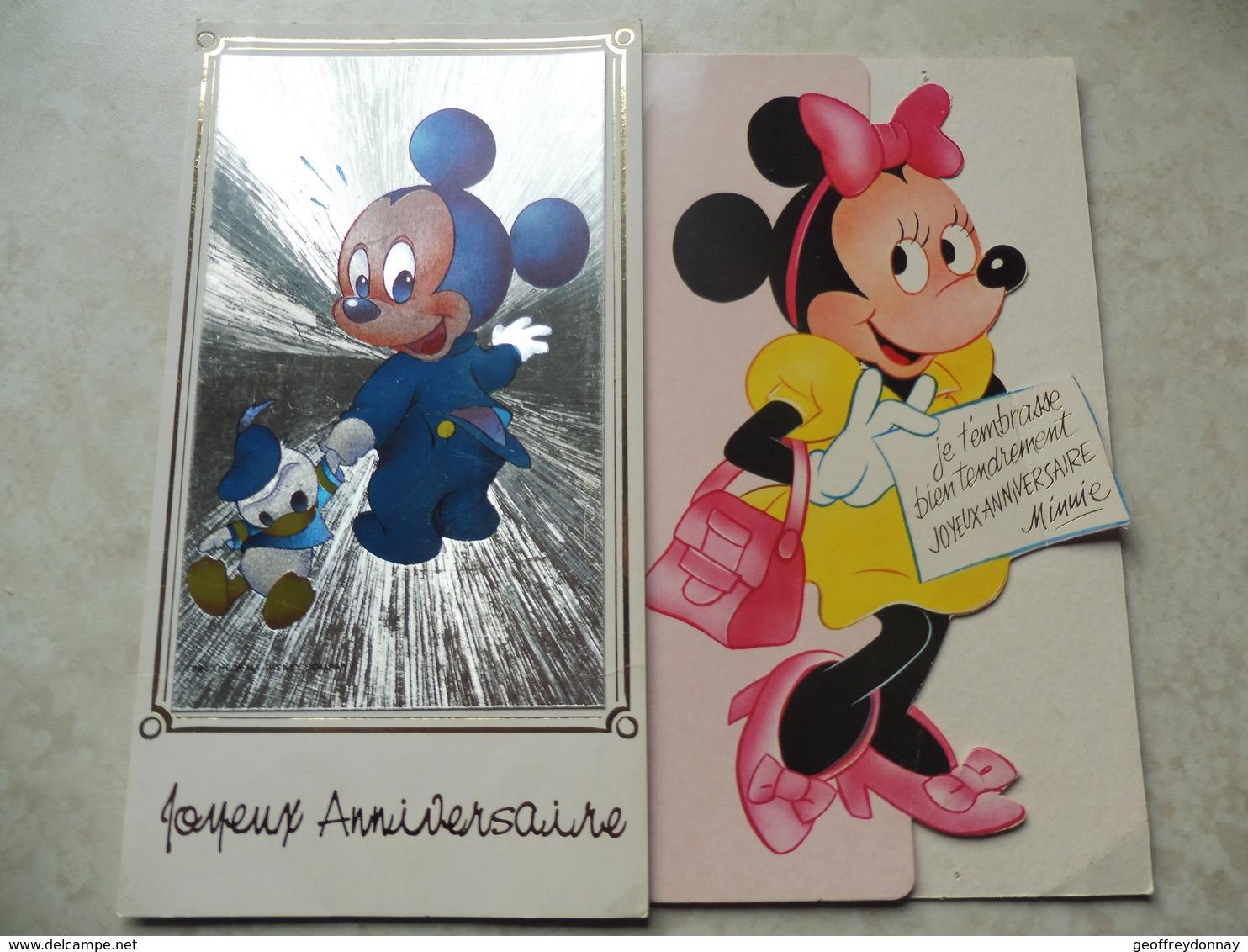 Walt Disney Mickey Minnie Dont Une 1984 - Disneyland