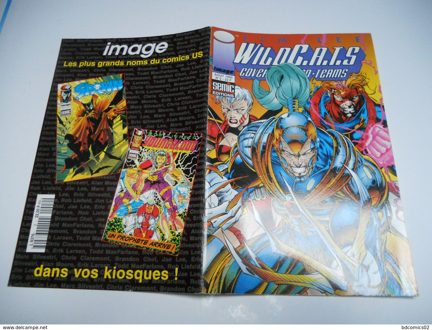 Wildcats N° 02 : Cover Action Teams Semic TBE - Livres, BD, Revues