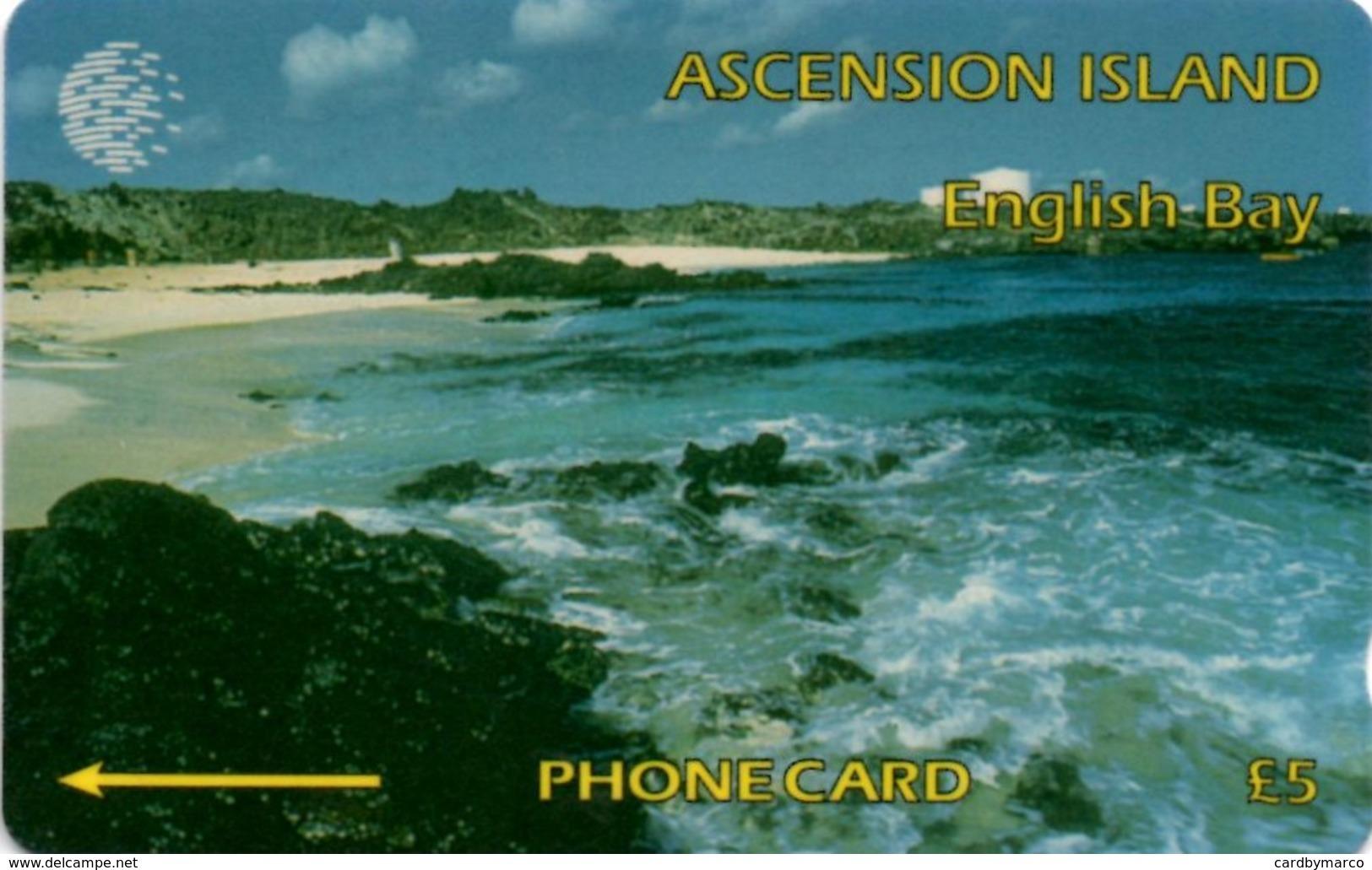 *ASCENSION ISLAND - 6CASA* - Scheda Usata - Ascension (Insel)
