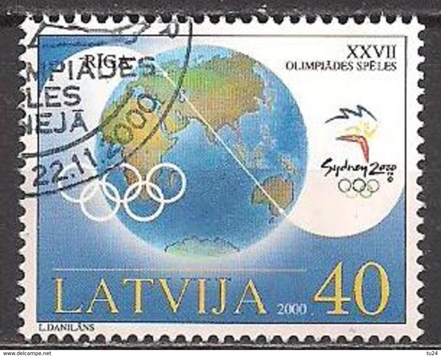 Lettland  (2000)  Mi.Nr.  534  Gest. / Used  (3ad23) - Lettland