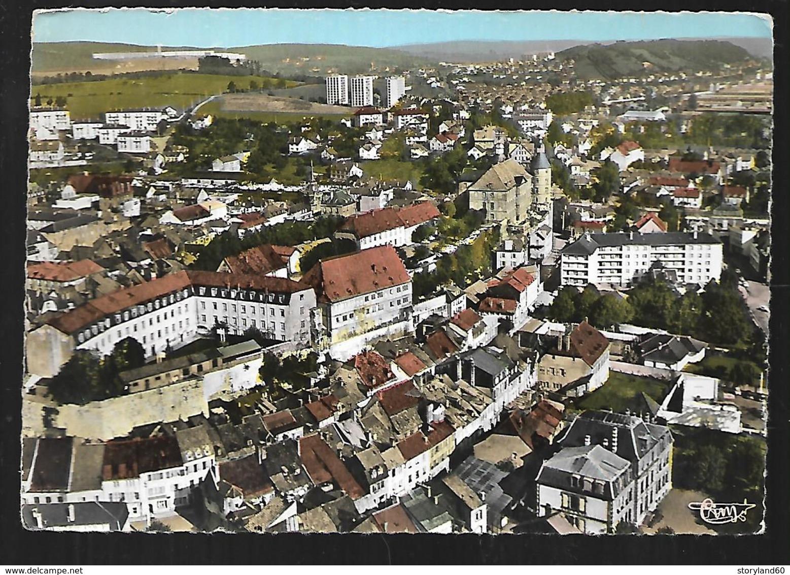 Cpm 2518958 Montbeliard L'école Des Douanes Vue Aérienne - Montbéliard