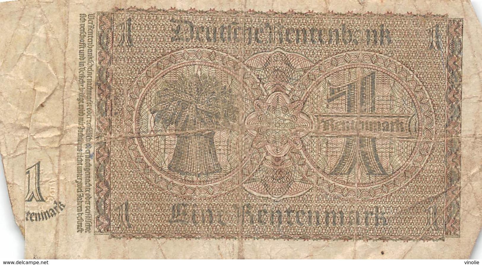 PIE-VPT-18-088 :  BILLET ALLEMAND 1 MARK - [ 4] 1933-1945 : Terzo  Reich