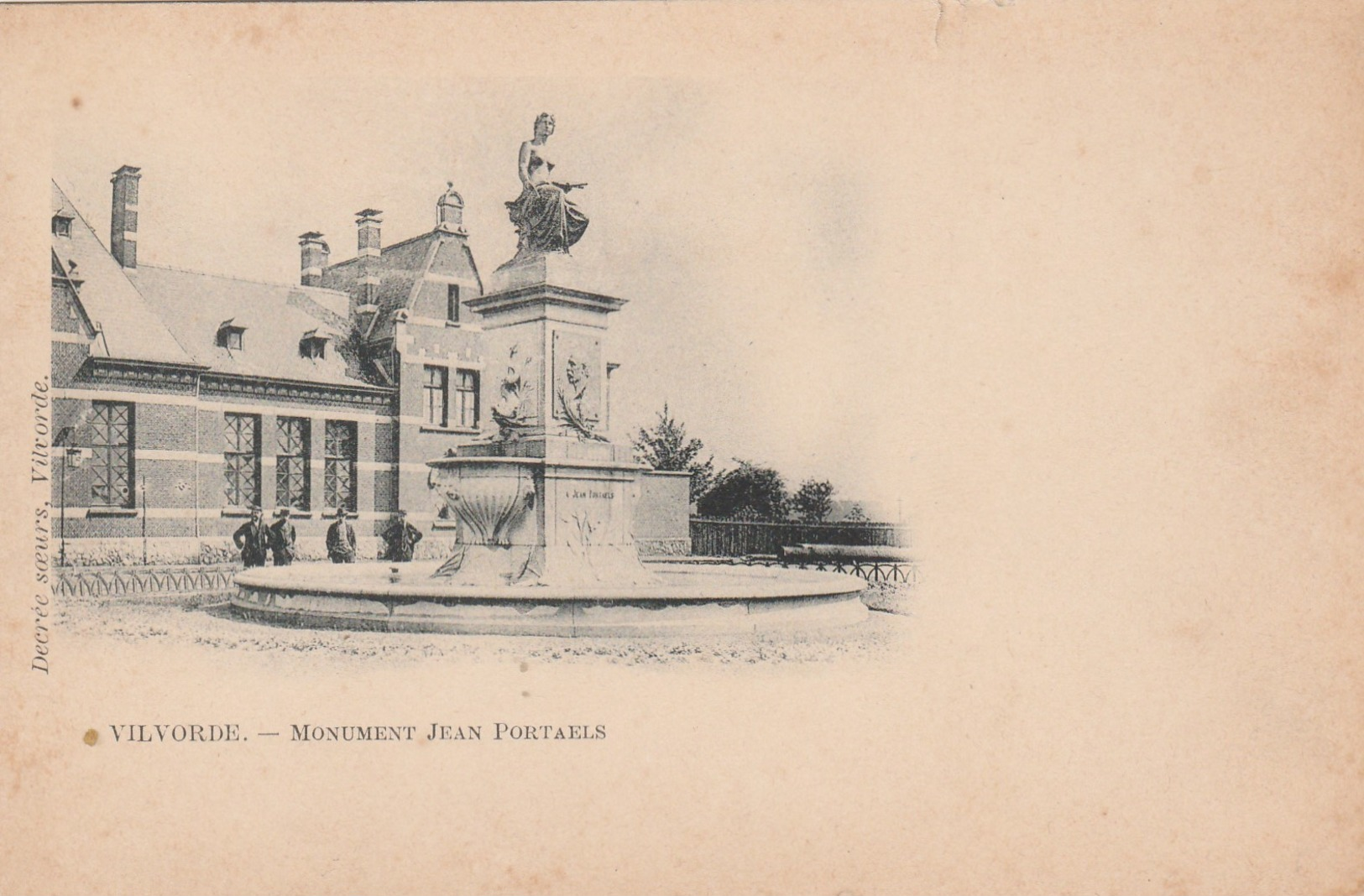 Vilvorde , Vilvoorde , Monument Jean Portaels - Vilvoorde