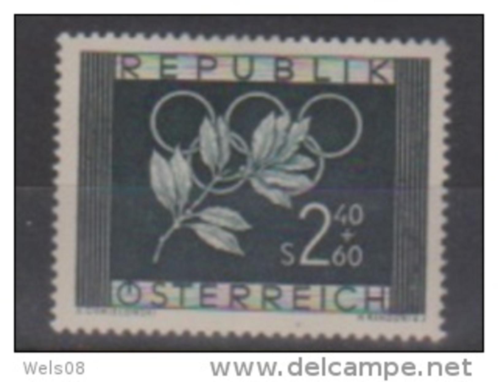 """Österreich 1952:  """"Olympische Spiele"""" Nr.985 Postfrisch(siehe Foto/Scan) - 1945-.... 2nd Republic"""