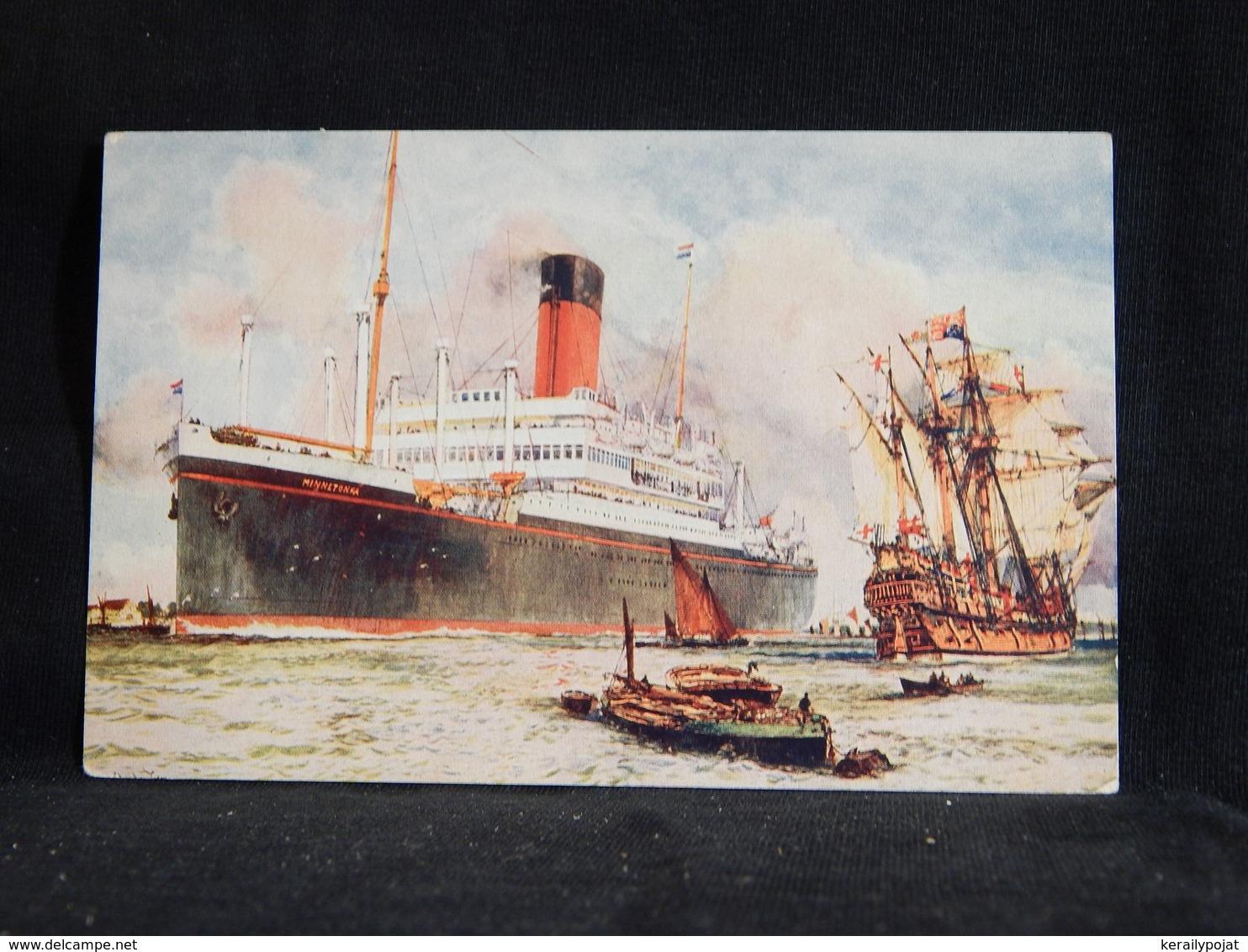 Steamer Minnetonka Atlantic Transport Liner__(22749) - Paquebote