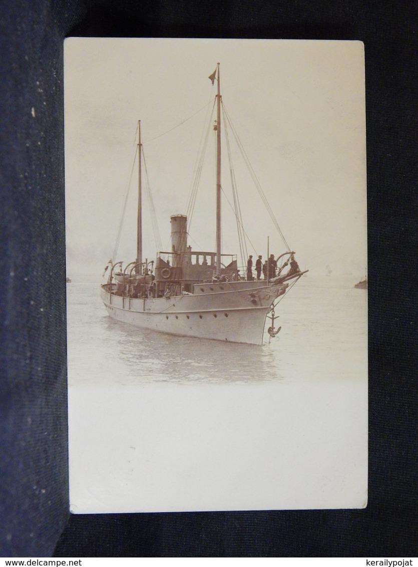 Steamer Old Ship Postcard -05__(21744) - Paquebote