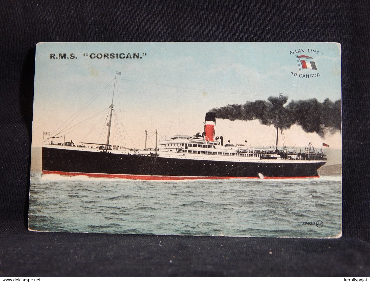 Steamer R.M.S. Corsican__(22763) - Paquebote
