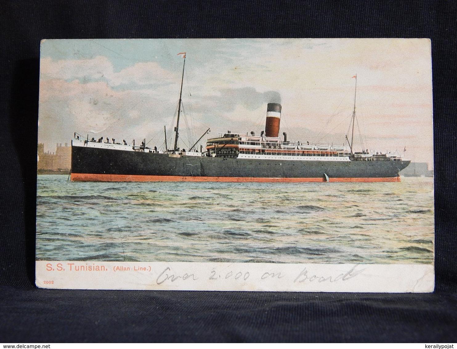Steamer S.S: Tunisian -06__(22176) - Passagiersschepen