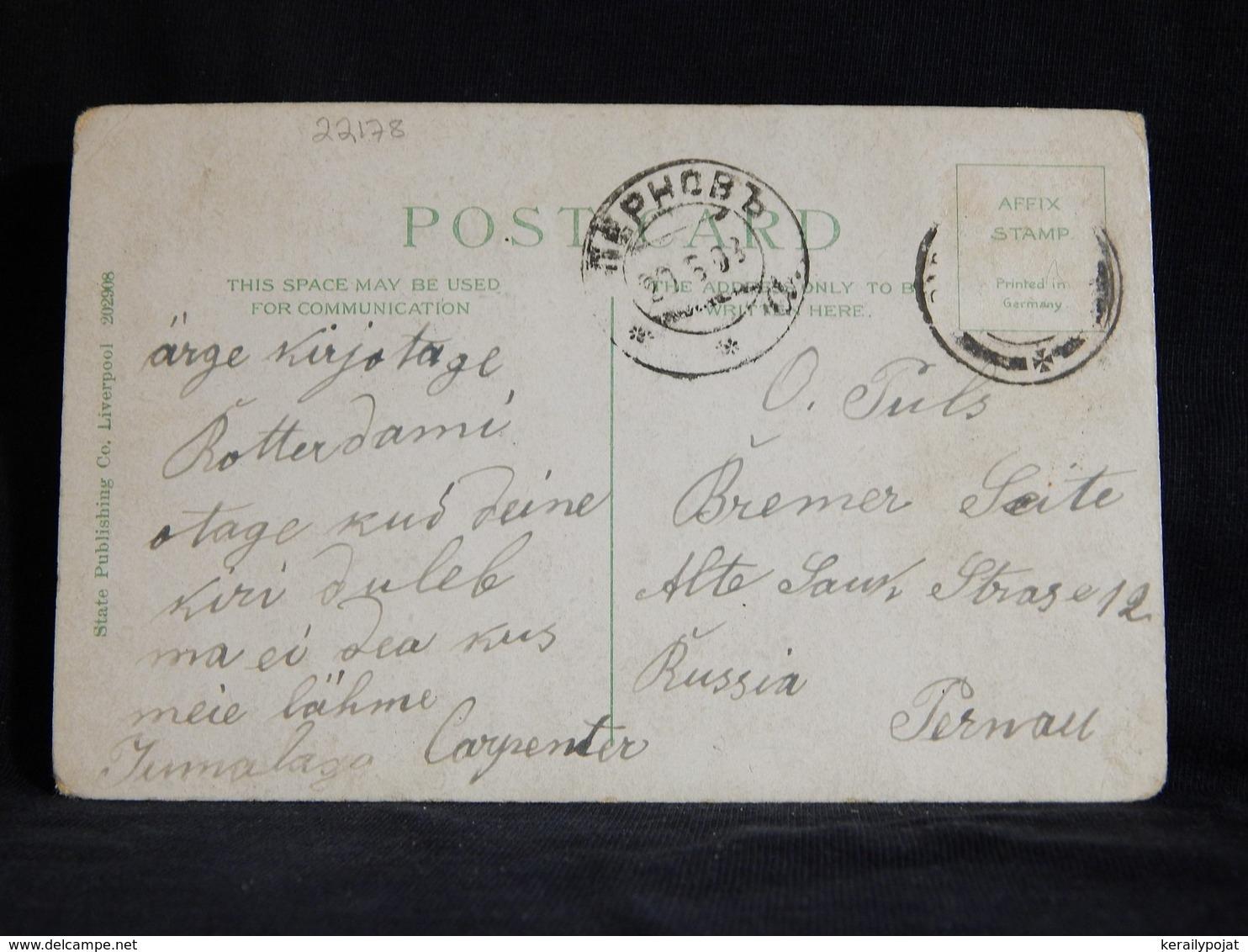 Steamer S.S. Tunisian Allan Line__(22178) - Paquebote