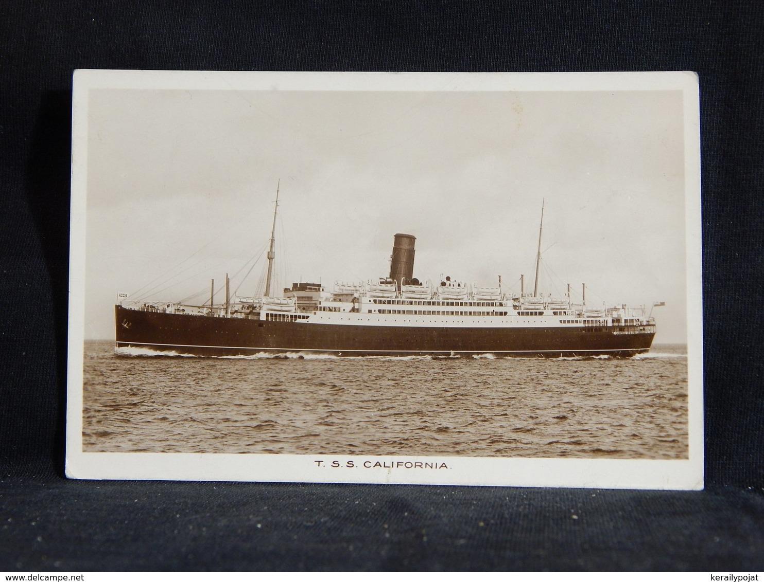Steamer T.S.S. California__(22740) - Paquebote