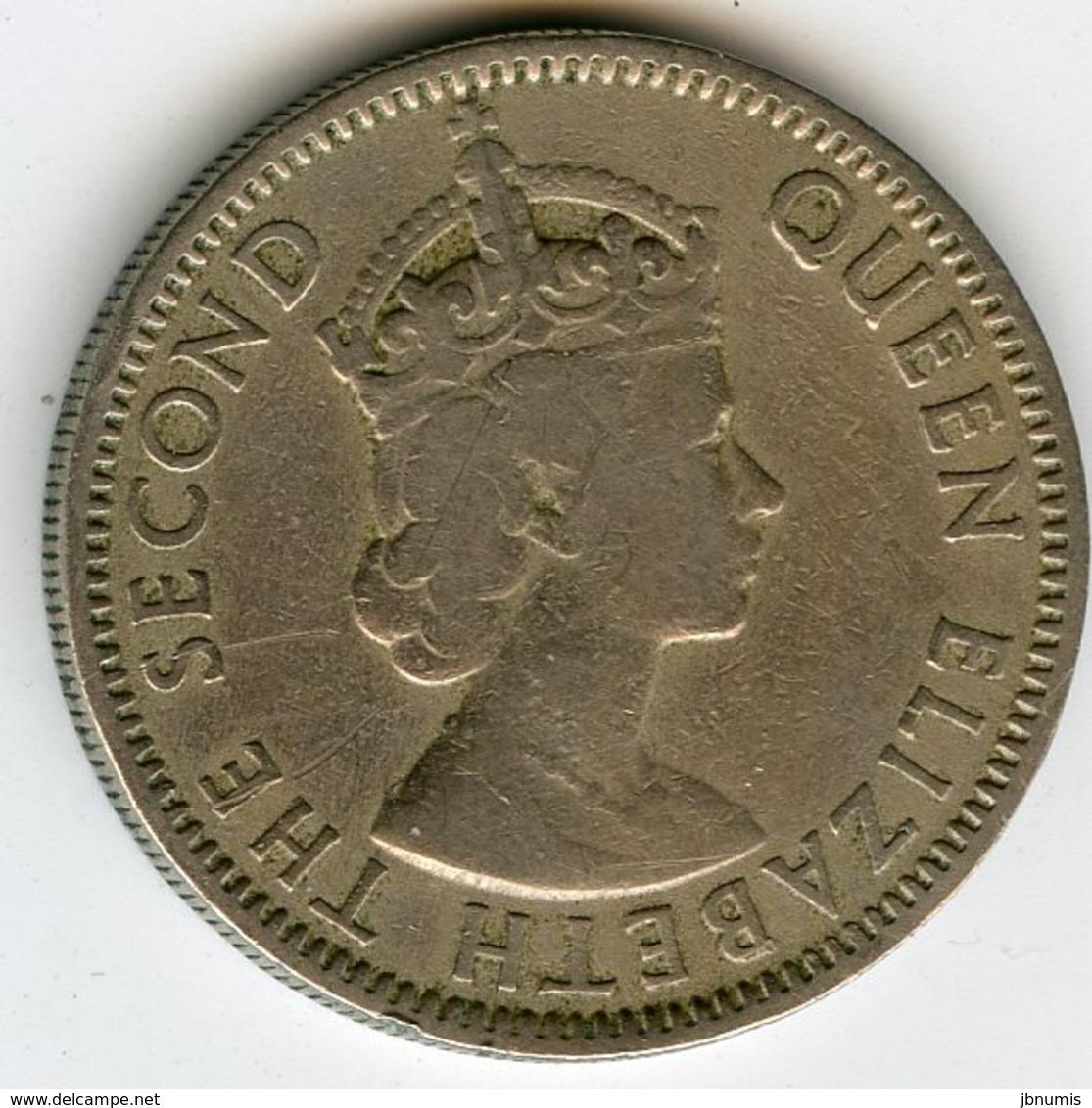 Chypre Cyprus 50 Mils 1955 KM 36 - Chypre