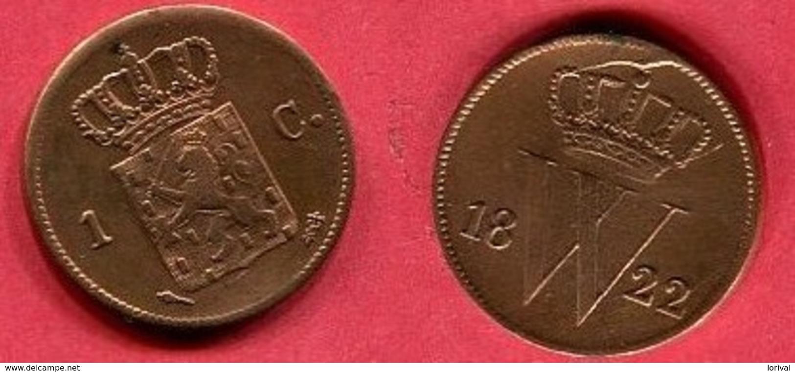 1 CENTS    ( KM 47 ) TTB 5 - [ 3] 1815-… : Kingdom Of The Netherlands