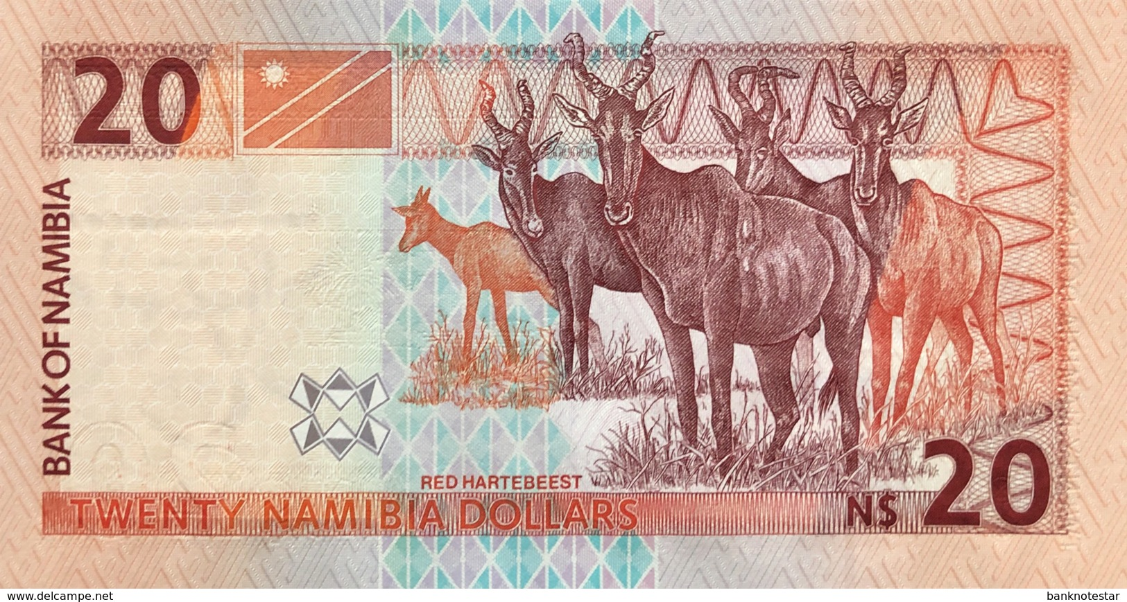 Namibia 20 Dollars, P-6b (2001) - UNC - Namibia