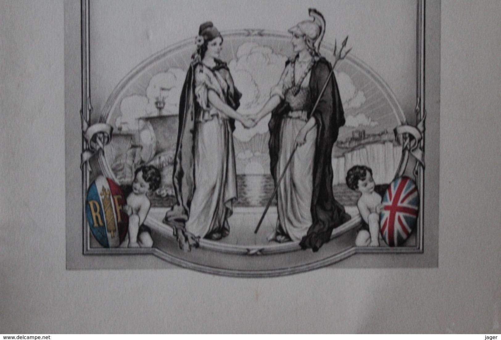 Menu  1939 President De La Republique London Corporation - Menus