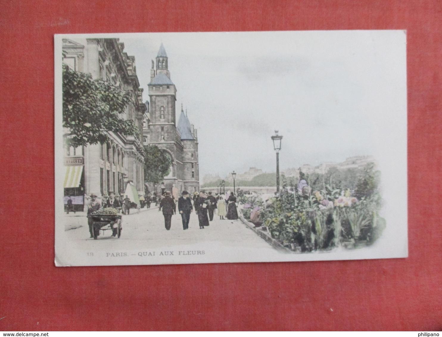 > France > [75] Paris   Quai Aux Fleurs  Undivided Back Ref 3102 - France