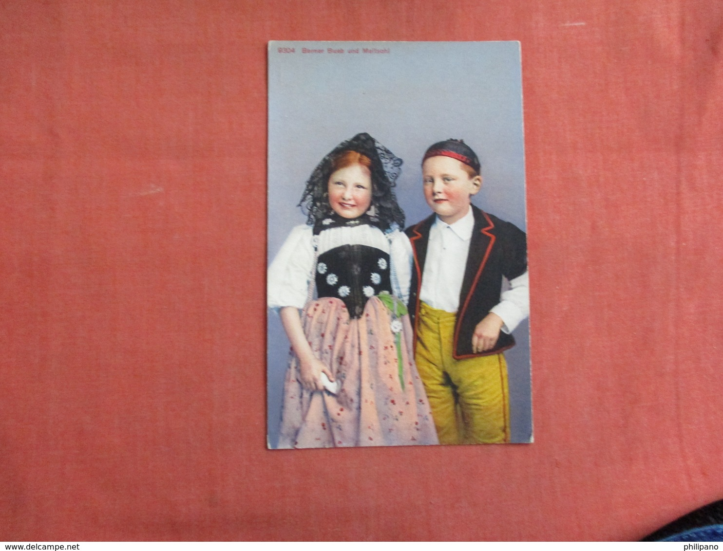 Berner Bueb Und Meitschi     Ref 3102 - Europe