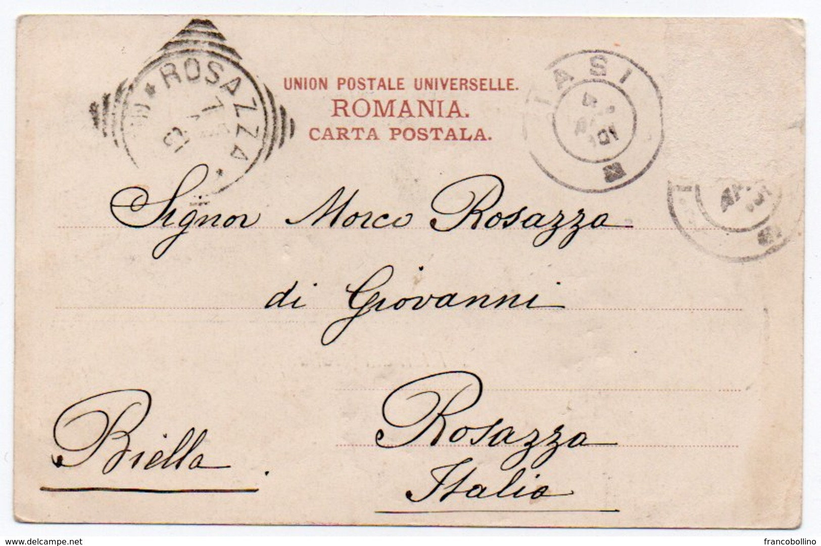 ROMANIA/ROUMANIE - SALUTARI DIN BRAILA - 1901 - Romania