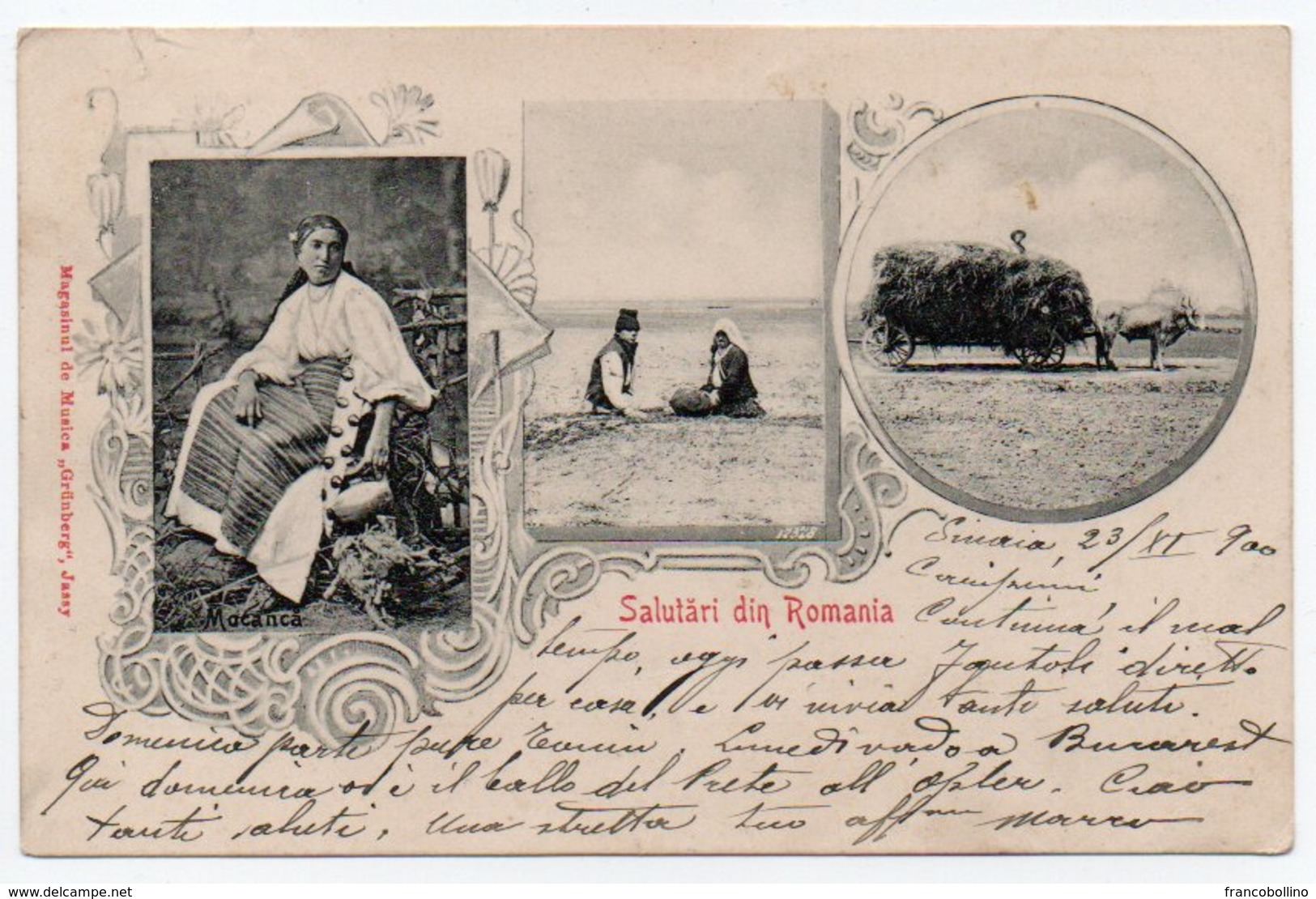 ROMANIA/ROUMANIE - SALUTARI DIN ROMANIA - 1900 - Romania