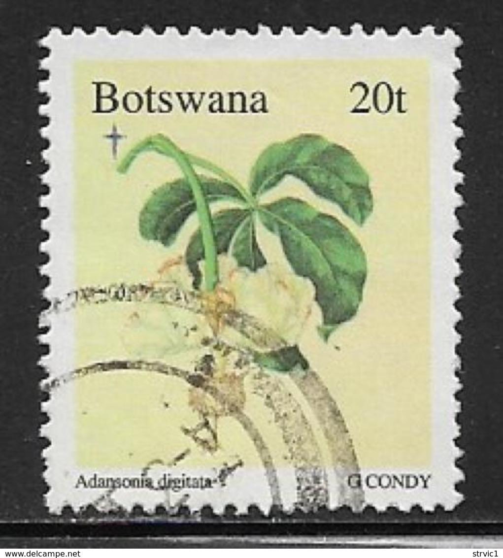 Botswana, Scott # 612 Used Christmas, Flowers, 1996 - Botswana (1966-...)