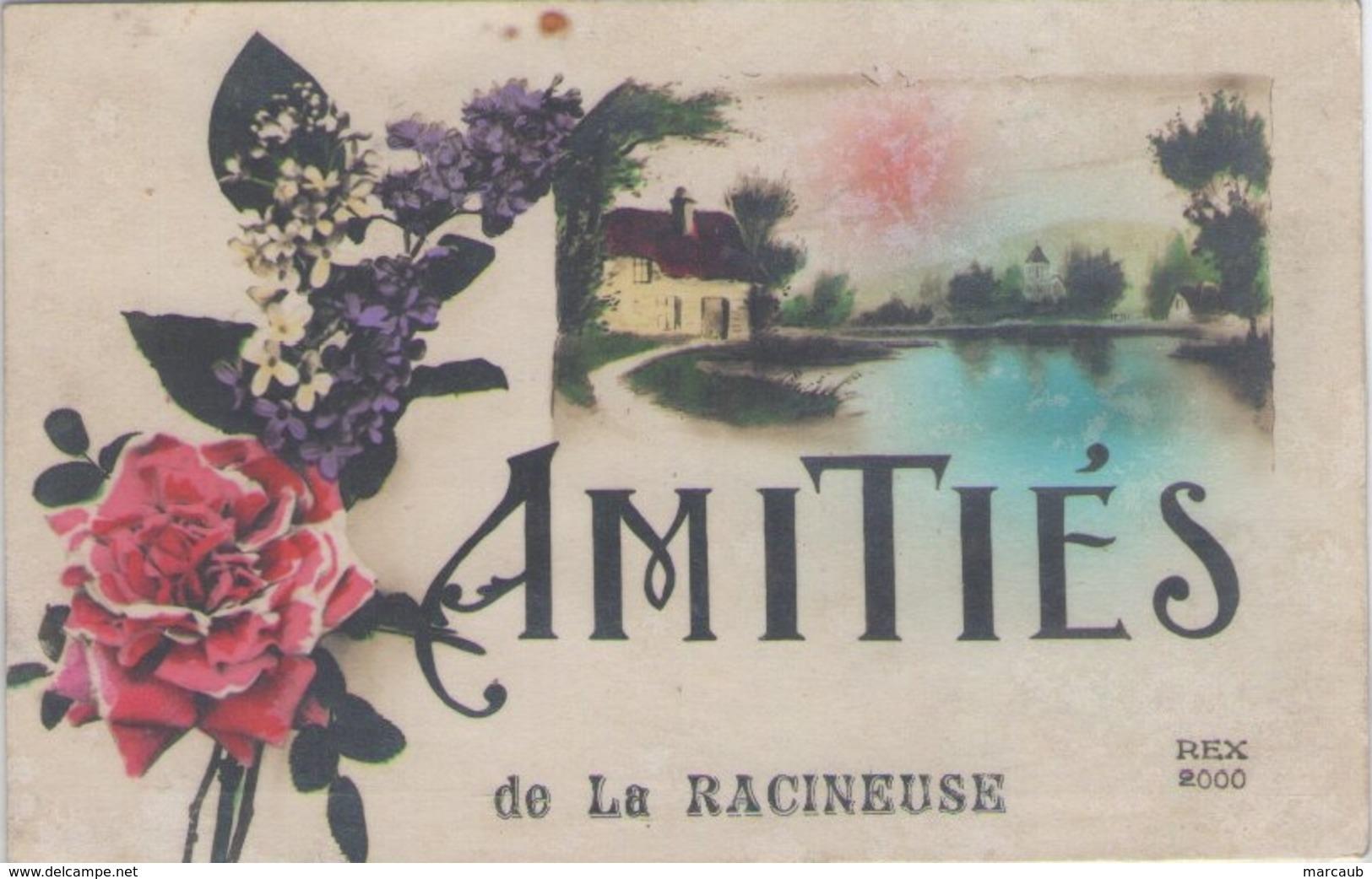 CPA 71 Saône Et Loire - Amitiés De La RACINEUSE - France