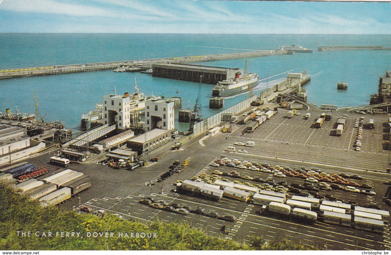 Dover Harbour, The Car Ferry (pk53516) - Dover