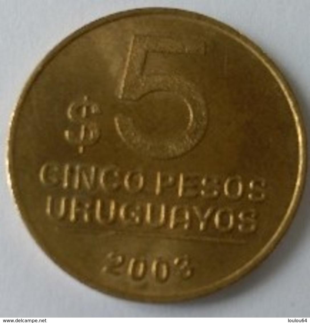 5  PESOS  URUGUAYOS  2003 - URUGUAY - Superbe - - Uruguay