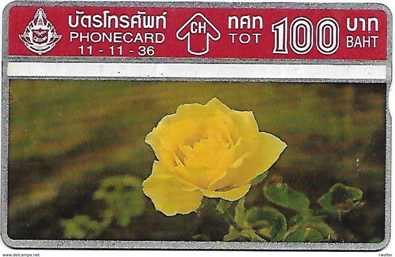 @+ Thailande - Rose - 11-11-36 - Thaïlande