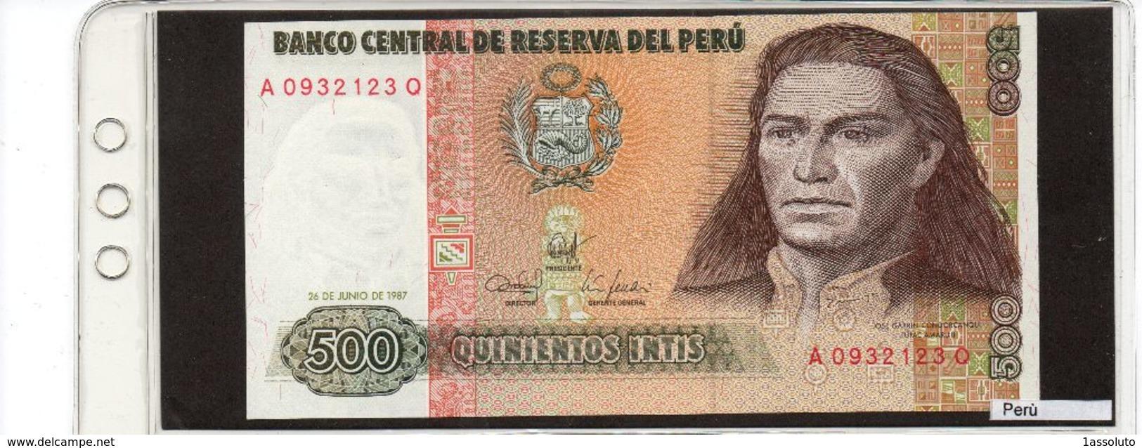 Banconota Perù 500 Intis - Pérou