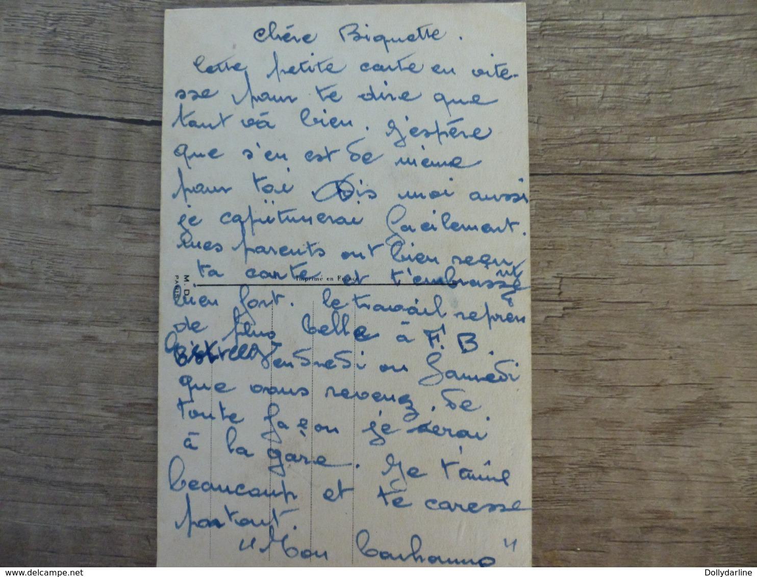 """Germaine BOURET  """"Les Femmes Ca Peut Jamais Se Lever Avant Midi"""" Dessin Chien Ours En Peluche Enfants Lit - Bouret, Germaine"""